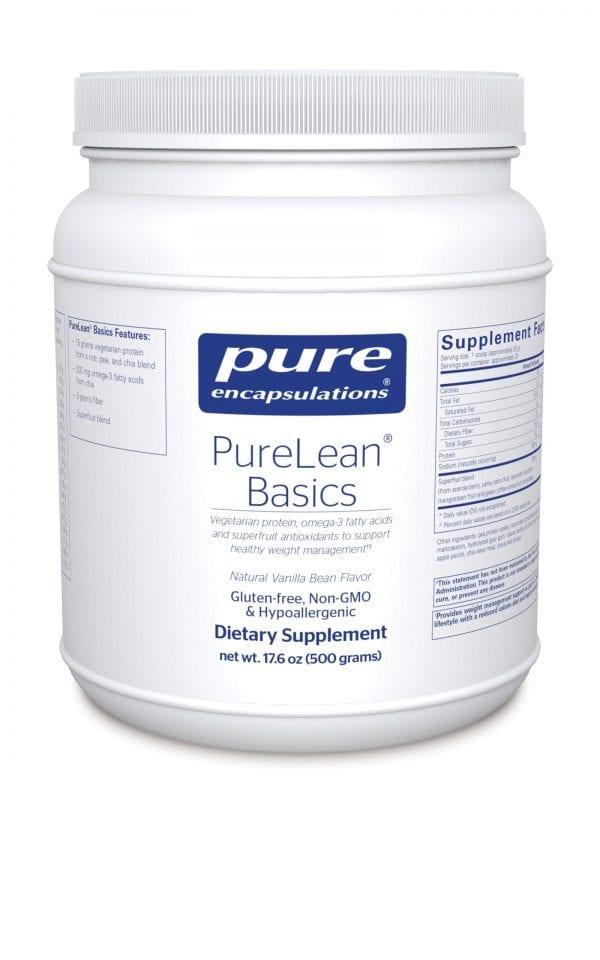 Purelean Basic Natural Vanilla Bean 500g