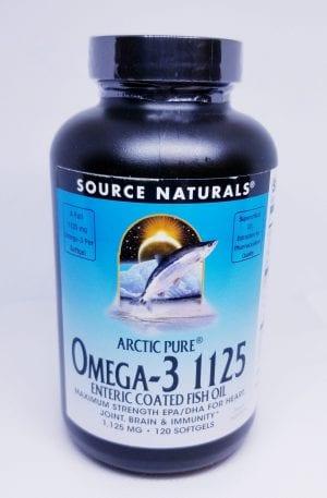 SourceNaturals Omega 3 1125