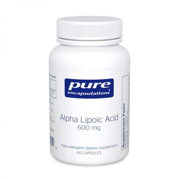 Alpha Lipoic Acid 60 600 mg