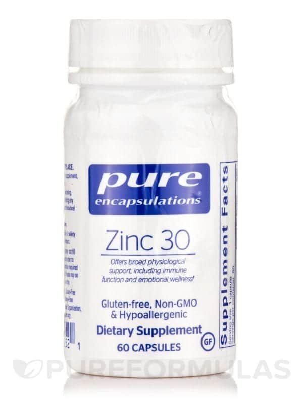 Zinc 30 Pure Encapsulations