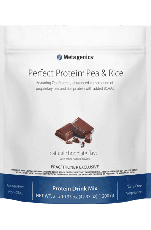 Perfect Protein Pea and Rice Chocolate by Metagenics
