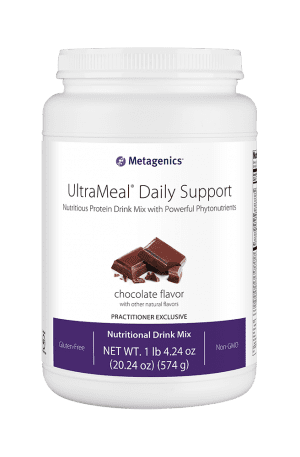 UltraMeal Daily Support Chocolate Flavor by Metagenics